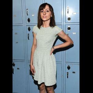 Sparkling Mint Mini Dress